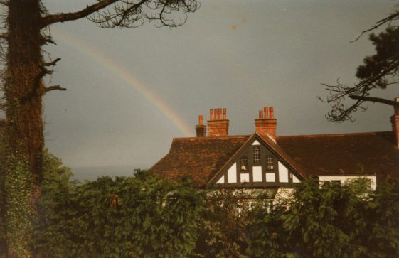 Corner Cottage in Granville Road. 1986
