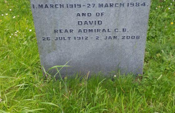 Gravestone of MANSFIELD Jean 1984; MANSFIELD David 2008