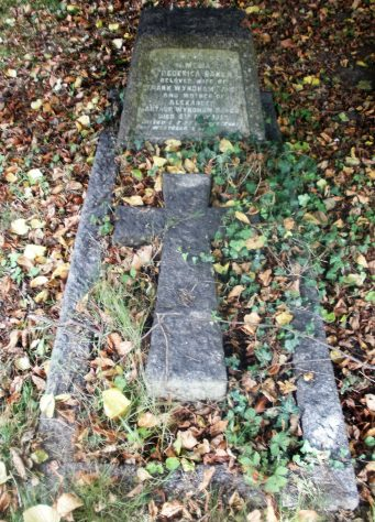 Gravestone of BAKER Amelia Frederica 1937