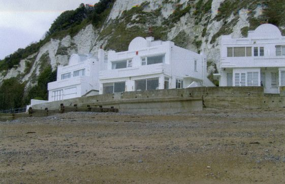 Houses at The Leas end of St Margaret's Bay. 2010