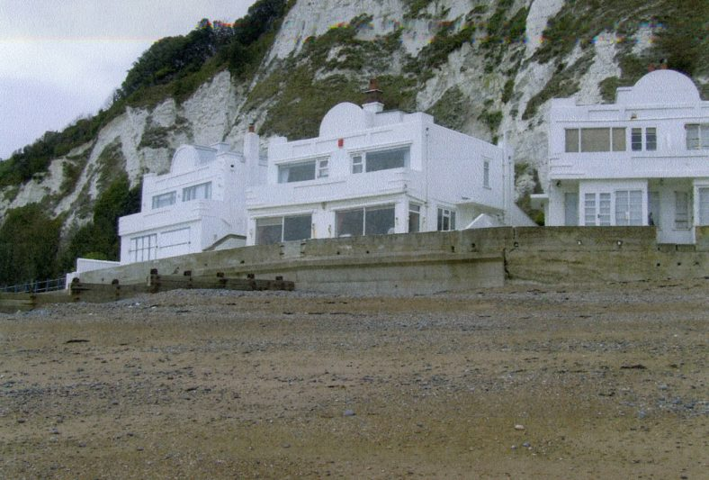 Houses at East Cliff end of St Margaret's Bay. 2000