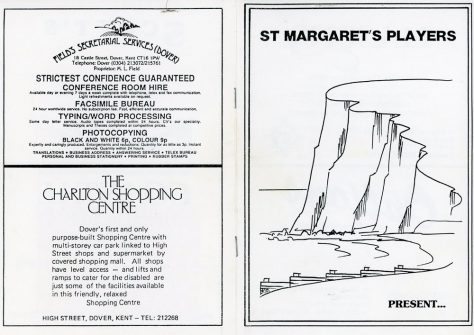 Programme of St. Margaret's Players production of 'They're Playing Our Song' unknown date