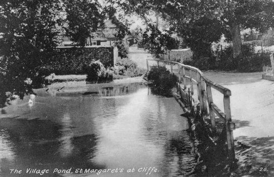 Chapel Lane pond. Undated
