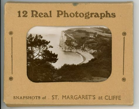Packet of 12 postcards with views of St Margaret's at Cliffe