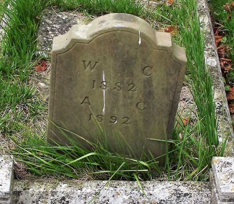 Gravestone of CLAYSON William 1882; CLAYSON Ann 1892 | Dawn Sedgwick