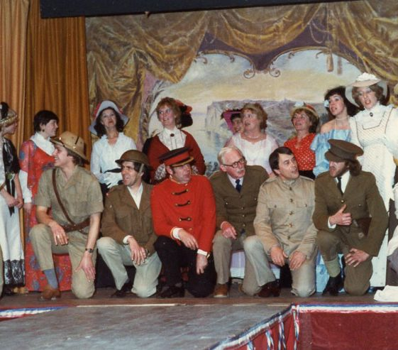 Performers in the St. Margaret's Players 'Old Tyme Music Hall'