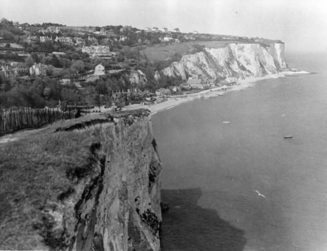 St Margaret's Bay from Ness Point. 1925/35