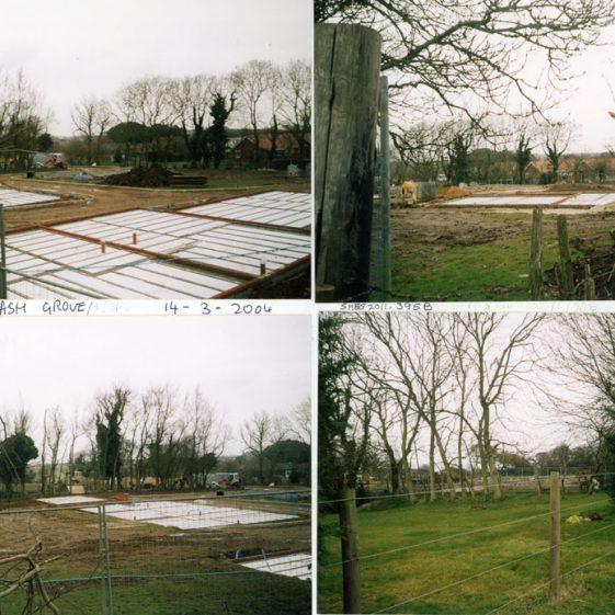 The Ash Grove development site.  2004