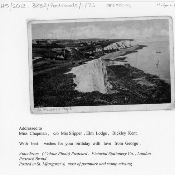 St Margaret's Bay from Ness Point. c1905