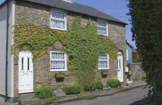 Kingsdown Road (Nos 9 & 11) (Bowls Club just visible). 2010
