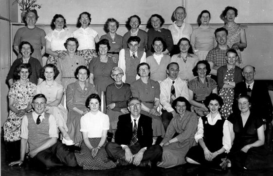 The Square Dance Club held at the Kenilworth Hotel. mid 20thc