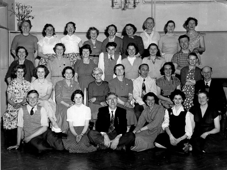 The Square Dance Club held at the Kenilworth Hotel