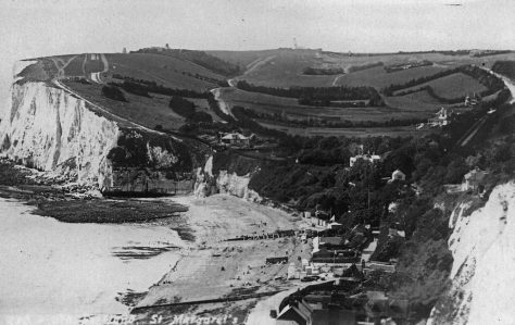 St Margaret's Bay from The Leas. 1920s