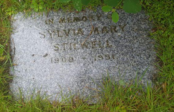 Gravestone of STILWELL Sylvia 1991