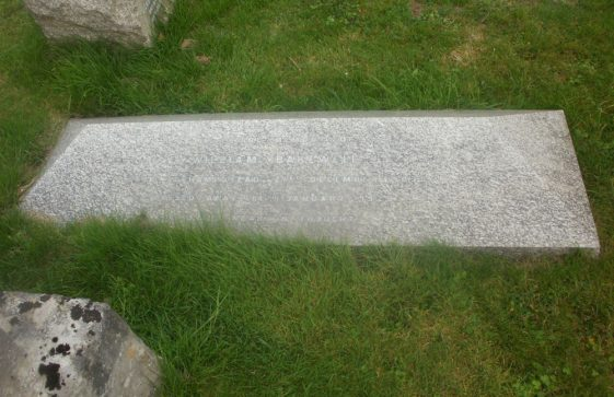 Gravestone of BAKEWELL William 1925