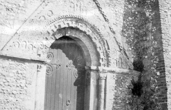 St Margaret's Church West doorway.