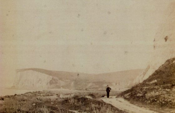 The Undercliff Road from Kingsdown to St Margaret' Bay. 1894
