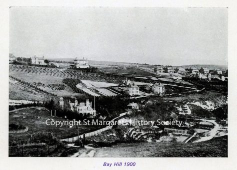 Bay Hill and St Margaret's Bay. 1900