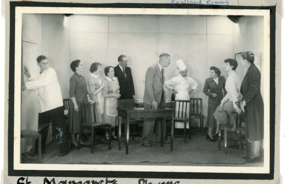 Scene from an unidentified  production by St Margaret's Players'  c.1950s
