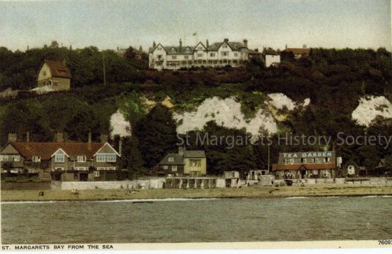 St Margaret's Bay from the sea. c1930
