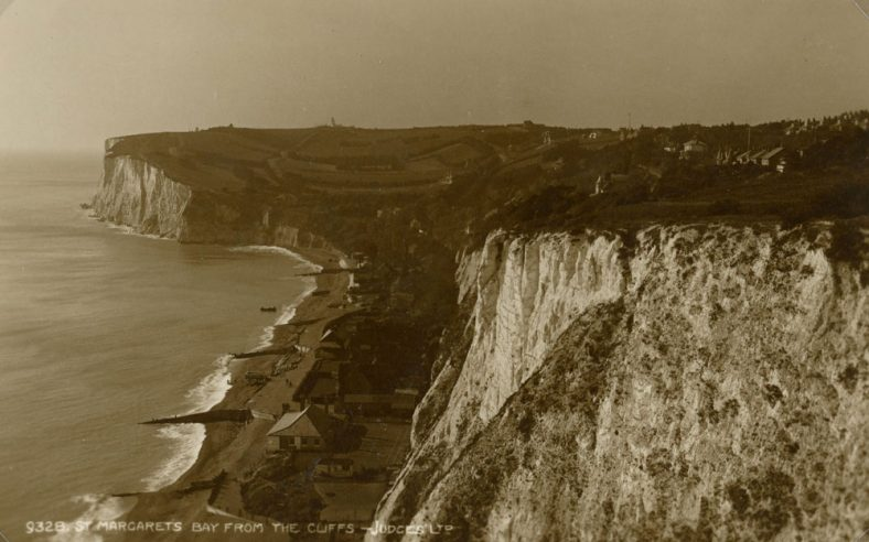 St Margaret's Bay from The Leas.