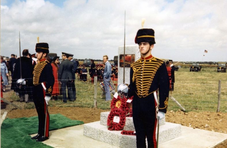 Anglo American Artillery Monument Dedication service, Upper Road 15 August 1986