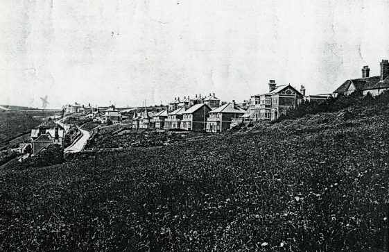 Properties along Granville Road and Hotel Road. 1900s