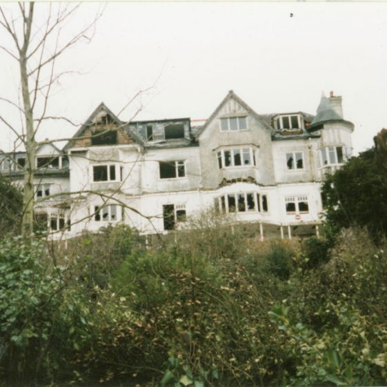 Granville Hotel, Hotel Road: Derelict. March 1996