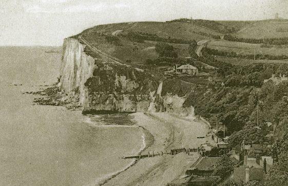 'White Cliffs of St Margaret's Bay'.  1925