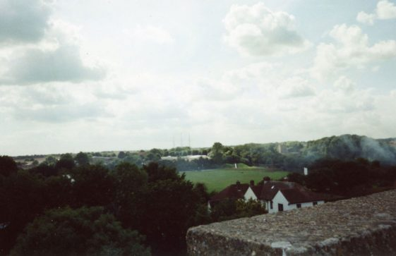 From St Margaret's church tower looking south-west.  23 August 2005