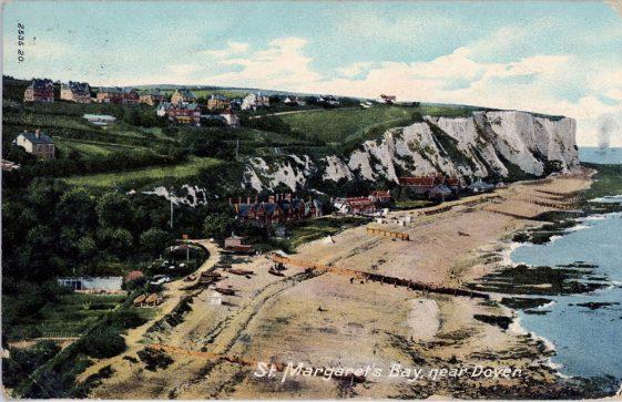 St Margaret's Bay from Ness Point.  postmark 1905