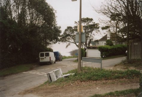Ness Point, Granville Road, and Fly Tipping. c2014