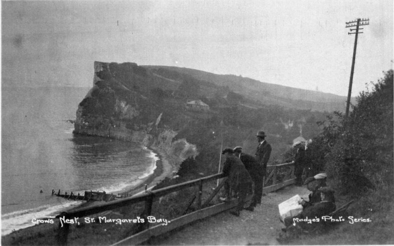 Crow's Nest to Ness Point, St Margaret's Bay. c1930