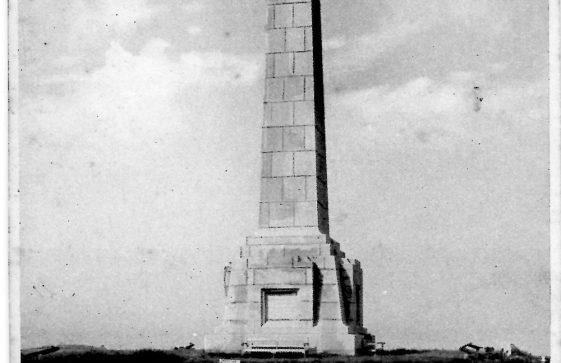 Dover Patrol Memorial. postmark 1929
