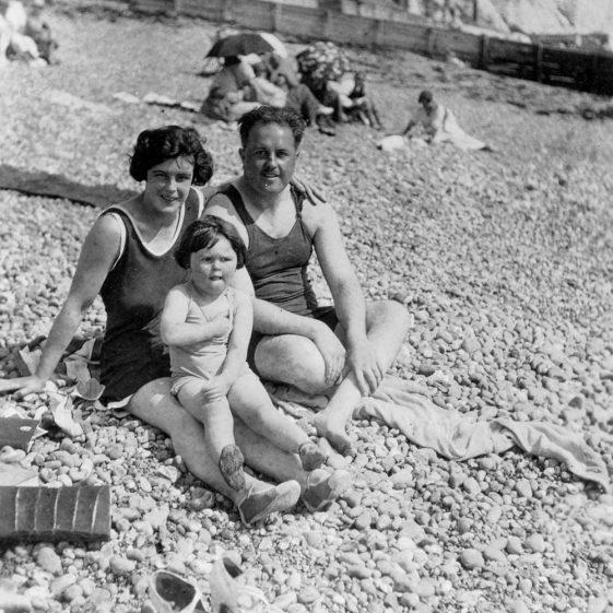 Denoon summer holiday on St Margaret's Bay beach.1926 (Part 1)