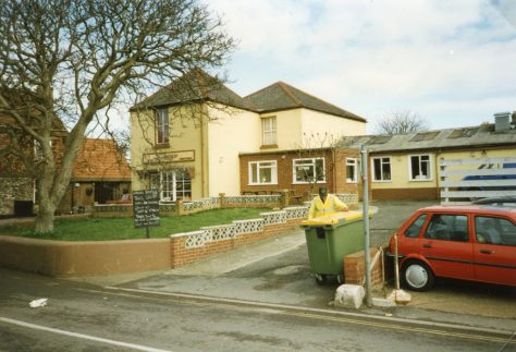 Watson's Baker's shop, Kingsdown Road.  probably March 1995