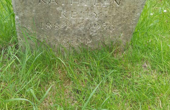 Gravestone of KEILY Kathleen 1976