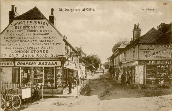 High Street, Beehive Stores and Madge's Stores