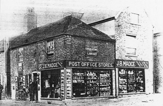 High Street and Madge's Stores. c1899