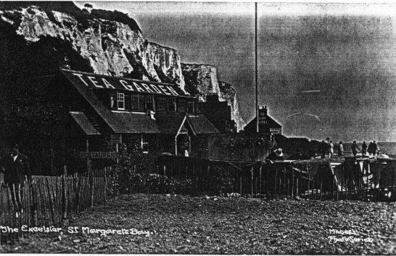 Excelsior Tearooms, St Margaret's Bay.  post 1921
