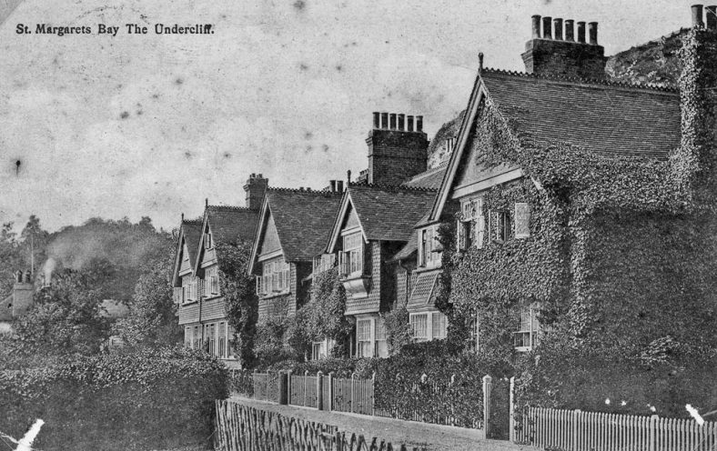 Adcock's Villas The Undercliff. sent to Mr EW Newman. postmarked 22 August 1906