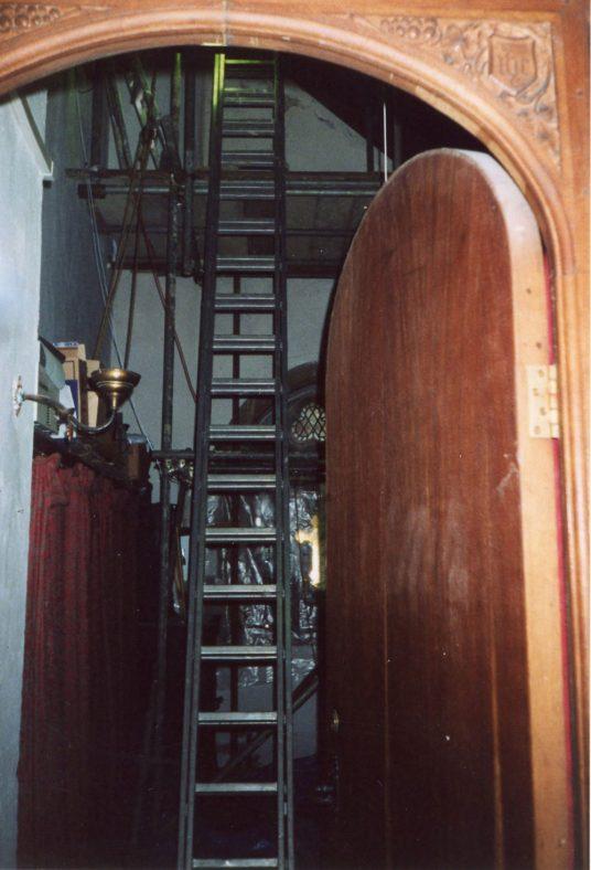 Interior of St Margaret's church vestry. 16 July 2004   Ruth Nicol