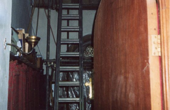 Interior of the church vestry. 16 July 2004