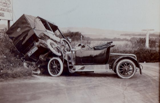 Sound File: Car accident at the Deal/ Station Road junction c.1914