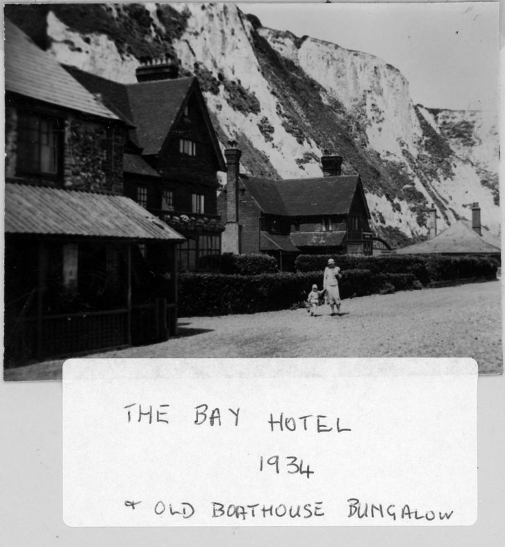St Margaret's Bay Hotel and Old Boathouse Bungalow. 1934