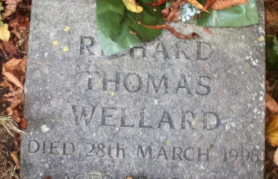 Gravestone of WELLARD Richard Thomas 1996