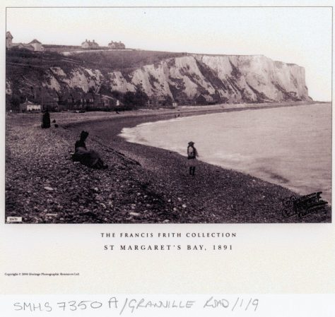 St Margaret's Bay from Ness Point 1899; St Margaret's Bay from The Leas 1918; East Cliff from the beach 189118. pre WW1
