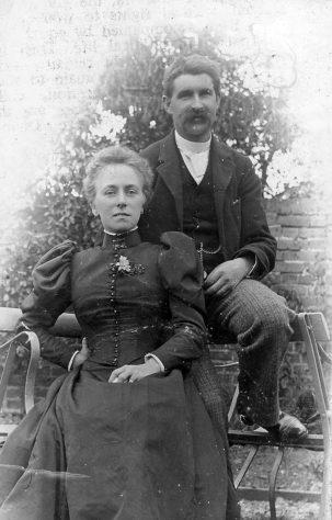 Joseph and Selina Madge, c.1895