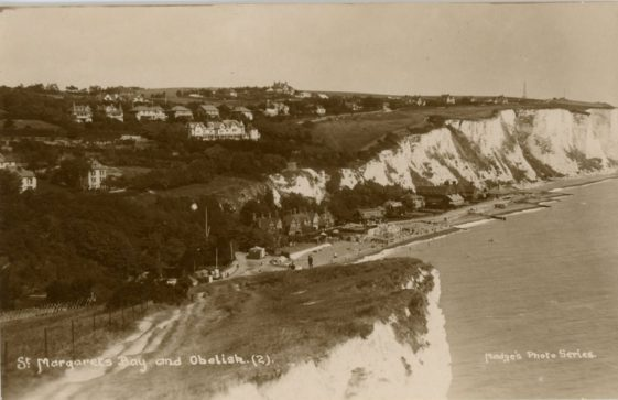 St Margaret's Bay from Ness Point. after 1928