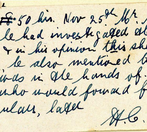 St Margaret's ARP (Air Raid Precautions) Log. Volume 3. 2 November 1940 - 17 February 1941. Pages 52-60